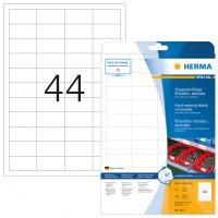 HERMA 4572 Folienetiketten weiß wetterfest 48,3 mm x 25,4 mm
